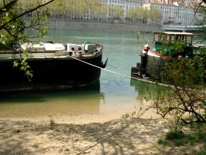 L'eau de baignade est de bonne qualité dans le Rhône
