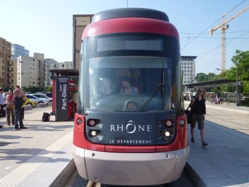La circulation de Rhônexpress interrompue lundi pendant une demi-heure