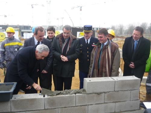 La construction du futur pôle de la gendarmerie est en marche