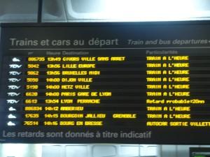 La grève a débuté mercredi soir à 20 heures à la SNCF