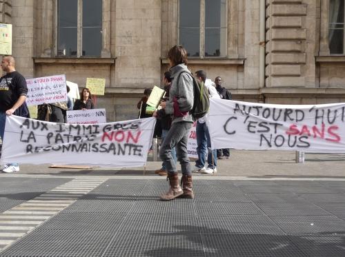 La marche des sans-papiers arrive à Lyon