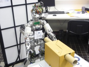 La ville de Lyon envahie par les robots