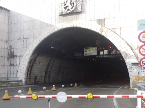 Le Tunnel de la Croix Rousse sera fermé vendredi soir