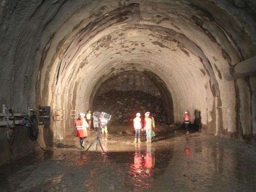 Le chantier sous le Tunnel de la Croix-Rousse se poursuit