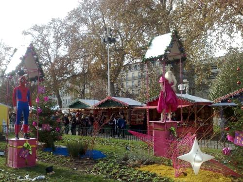 Le marché de Noël des artisans d'art, artistes et créateurs