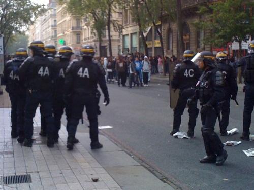 Le mouvement lycéen contre la réforme des retraites ne faiblit pas à Lyon