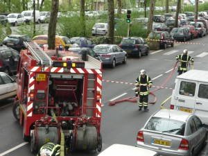 Le quai St Vincent brièvement coupé à la circulation à cause d'une fuite de gaz