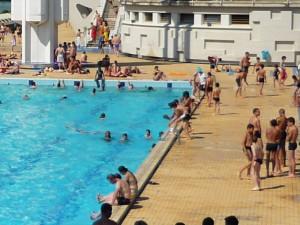 Le rassemblement des employés des établissements nautiques lyonnais