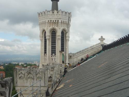 Le toit et la tour de l'Observatoire de Fourvière ont fait peau neuve