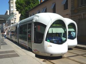 Les Etats-Unis prennent le tramway à Lyon