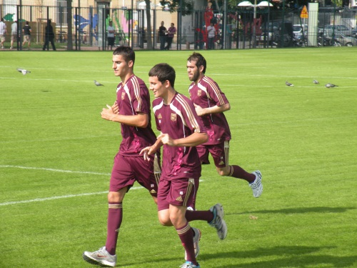 Les Lyonnais de retour à l'entraînement
