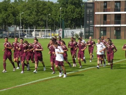 Les Lyonnais reprennent le chemin de l'entraînement