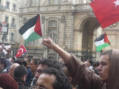 Les Syriens de Lyon ont manifesté