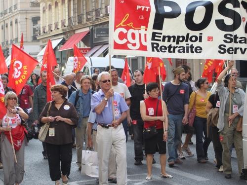 Les commerciaux de la poste en grève