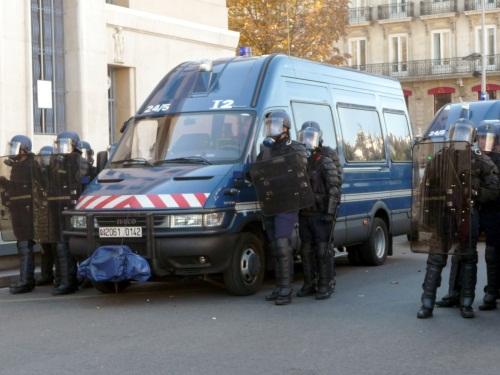 Les forces de l'ordre ont fait le ménage par le vide à Rillieux la Pape mercredi soir