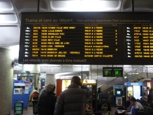 Les perturbations à la SNCF ont commencé dès mercredi soir