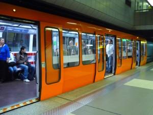 Les services fiscaux dans le métro lyonnais