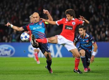Ligue des Champions : L'OL s'impose face au Benfica Lisbonne (2-0)