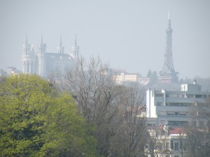Lyon : alerte à l'ozone