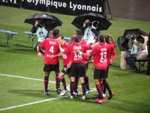 Lyon cale face à Rennes