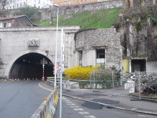 Lyon: les tunnels toujours en travaux