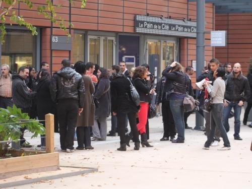 Mobilisation des salariés du centre d'appels Téléperformance