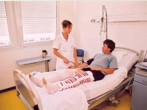 Débrayage à l'hôpital de Saint-Cyr-au- Mont d'Or