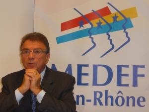 Nouveau président pour le MEDEF Rhône-Alpes