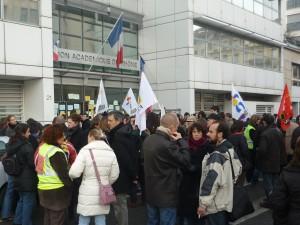 Nouveau rassemblement devant le rectorat mercredi à 14h30