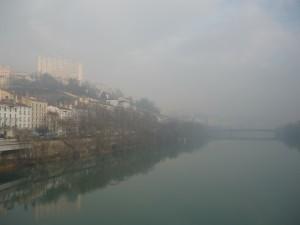 Nouvel épisode de pollution dans le bassin lyonnais