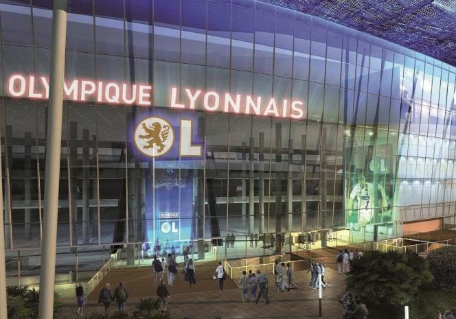 Le Stade des Lumières de l'OL financé jusqu'à 49% par Vinci