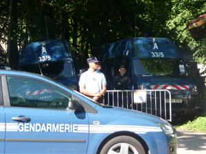 Quatre hommes interpellés aux abords de la prison de Corbas