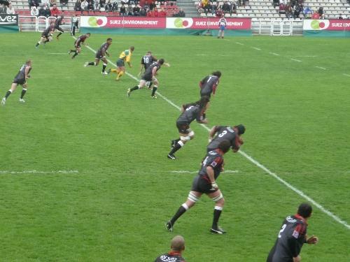 Rugby : Bordeaux ne réussit décidemment pas aux Lyonnais