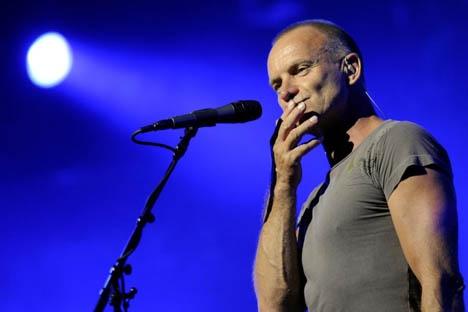 Sting est attendu jeudi à Lyon !