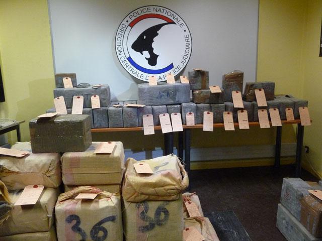 Saisie record de drogue pour la Police Judiciaire de Lyon