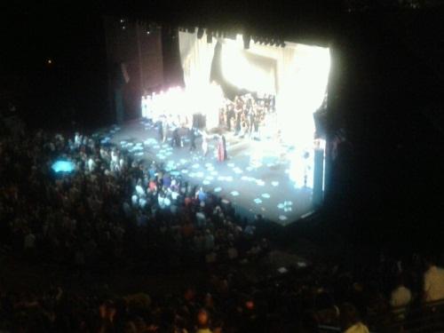 Standing ovation pour Carmina Burana à Fourvière