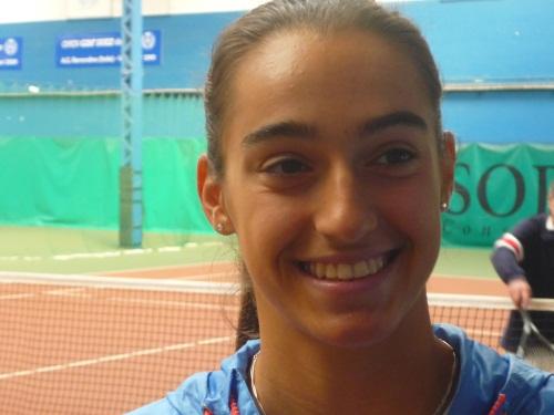 Tennis : Caroline Garcia sur les courts
