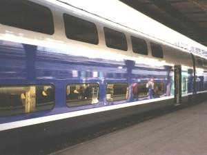 Trafic TGV quasi-normal vendredi