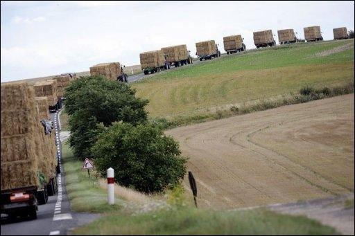 Sécheresse : les tracteurs de l'Ain sont attendus jeudi après-midi