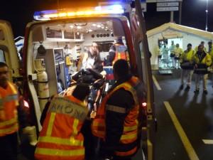 Un blessé grave sur la route lundi soir