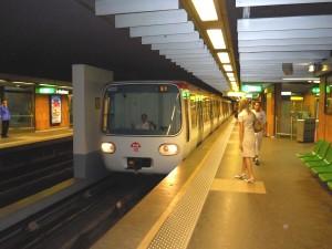 Un décès sur la ligne B du métro