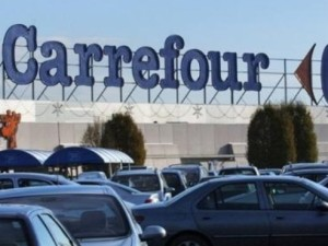 Un incendie au Carrefour de Bourg-en-Bresse