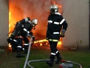 Un incendie au magasin Métro à Vaulx-en-Velin