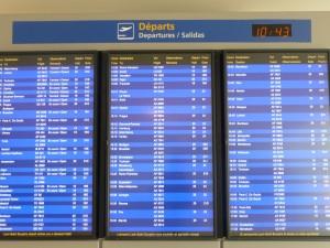 Un mouvement de grève à l'aéroport St-Exupéry