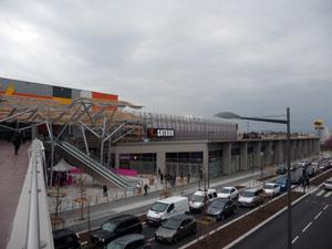 Un nouveau parc relais ouvrira ses portes vendredi à la Soie