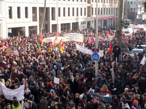 Un rassemblement à Lyon pour le peuple syrien
