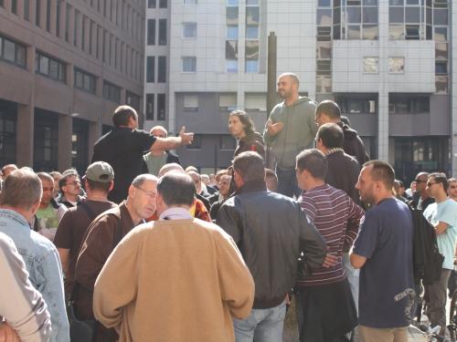 Un rassemblement des médecins généralistes
