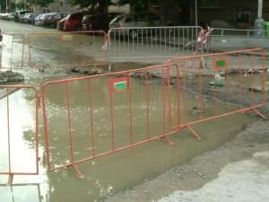 Une canalisation souterraine a explosé dans le 9e arrondissement ce matin