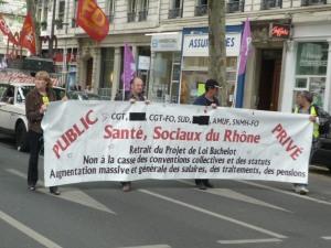 Une centaine d'infirmiers anesthésistes de Rhône-Alpes vont manifester à Paris