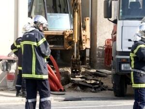 Une fuite de gaz à Villeurbanne